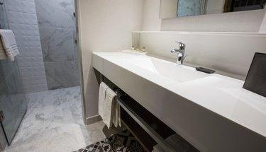 Salle de bain Hôtel Krystal Urban Guadalajara Guadalajara