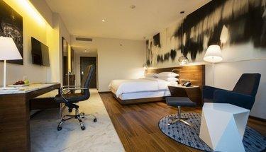 Suite king Hôtel Krystal Urban Guadalajara Guadalajara
