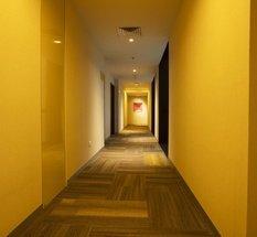 Couloir Hôtel Krystal Urban Guadalajara Guadalajara