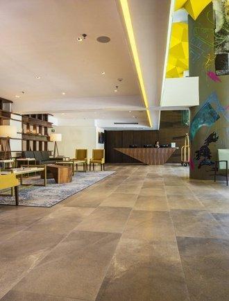Réception Hôtel Krystal Urban Guadalajara Guadalajara